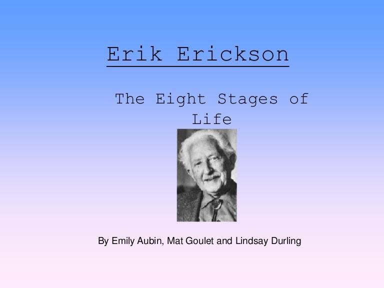 مراحل رشد اریک اریکسون