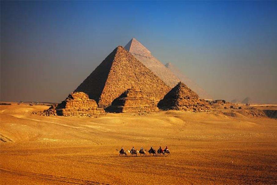 ساخت اهرام مصر